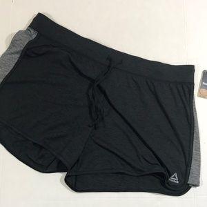 Reebok sport jersey shorts